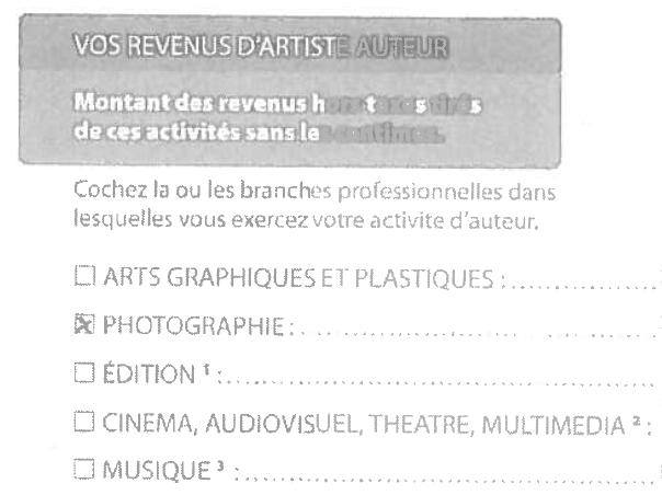 Maison des artistes declaration ventana blog for Agessa maison des artistes