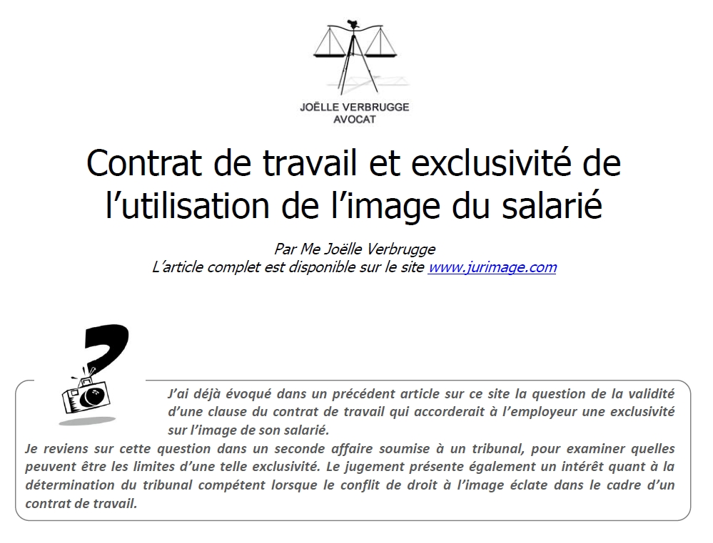 2016-05-23-Contrat-de-travail-et-exclusivite-d-image