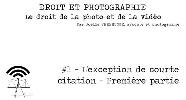 Podcast 1 L Exception De Courte Citation 1ere Partie Citer